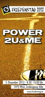 Friedenstag 2012 - power 4u&me